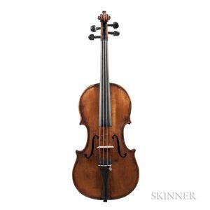 German Violin, Albin Wilfer, Leipzig, 1909