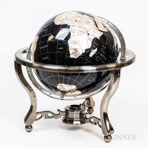 Modern Decorative Terrestrial Table Globe