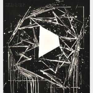 Mel Bochner (American, b. 1940)      White Island