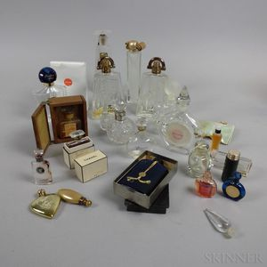 Group of Vintages Perfumes