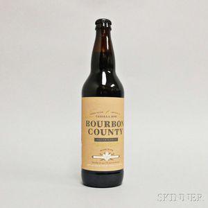 Goose Island Bourbon County Brand Stout Vanilla Rye 2014, 1 22oz bottle