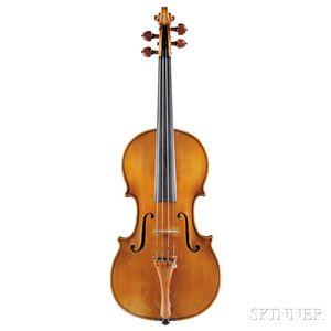 Italian Violin, Ascribed to Riccardo Antoniazzi, 1899