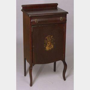 Mahogany Roll / Cylinder Cabinet