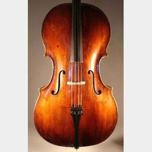 Violoncello, c. 1840, probably English
