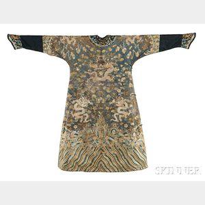 Manchu Man's Semiformal Robe