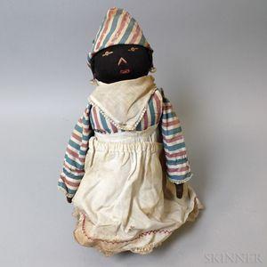 Black Bottle Doll