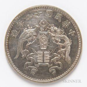 1923 Republic of China $1