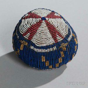 Sioux Beaded Hide Ball