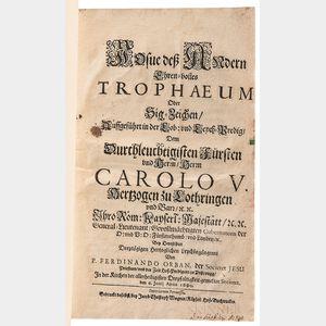 German Sammelband of Five Jesuit Dissertations, 1690-1759.