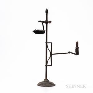 Adjustable and Extendable Light Stand with Betty Lamp