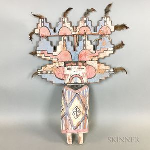 Large Wood Kachina Doll