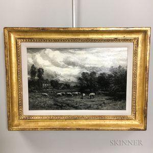 Thomas B. Craig (Pennsylvania, 1849-1924)       Pastoral Scene with Sheep