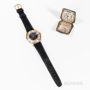 Marvin Wristwatch and an Eterna Purse Watch