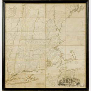 (North America, New England), Jefferys, Thomas (d. 1771)