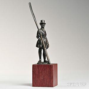 Bronze Waterman on Stand