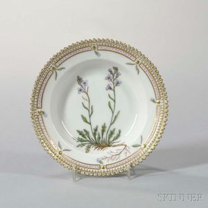"Twelve Royal Copenhagen ""Flora Danica"" Porcelain Side Bowls"