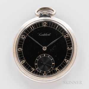 Cortebert Open-face Watch