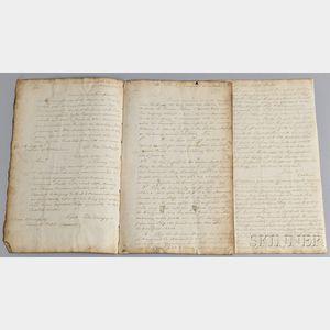 Copy of 1797 British Naval Correspondence