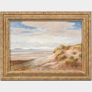 Charles Walter Radclyffe (British, 1817-1903)      Beach with Dunes