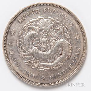 1909-11 China, Hupeh Province $1