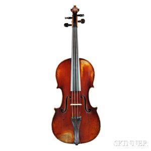French Violin, Honore Derazey Workshop, Mirecourt, 19th Century