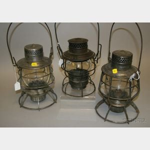 Three Tin Lanterns