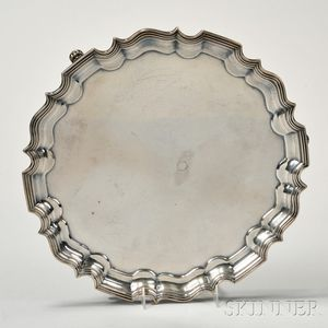 Bailey, Banks, & Biddle Sterling Silver Salver