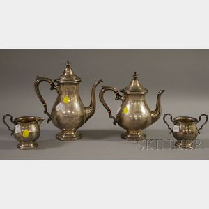 Fisher Four-Piece Sterling Coffee/Tea Service