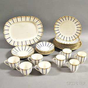 Twenty-three Pieces of Chelsea Derby Porcelain