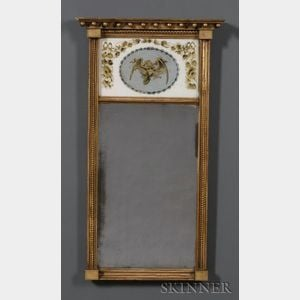 Federal Gilt gesso Mirror