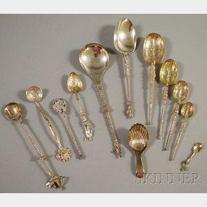 Twelve Silver Spoons