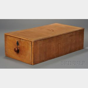 Shaker Pine One-drawer File Box