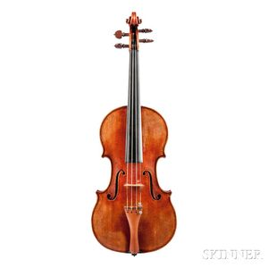 German Violin, Heinrich Th. Heberlein, Jr., 1957