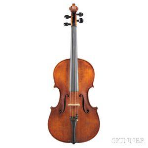Italian Viola, Domenico Tomassini, c. 1950