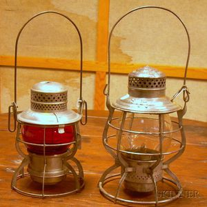 Two Tin Lanterns