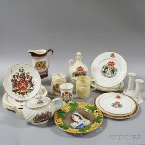 Twenty Royal Commemorative Items
