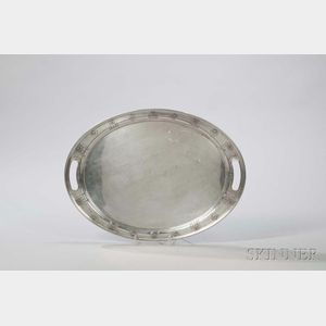 American Sterling Silver Tray