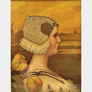 Paul Berthon (French, 1872-1909)      Queen Wilhemina