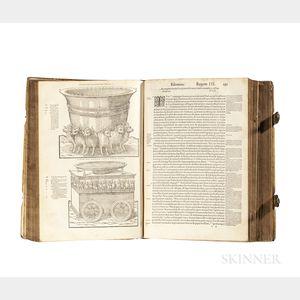 Bible, Latin. Biblia Sacra Veteris & Novi Testamenti Iuxta Vulgatam, quam Dicunt, Editionem.