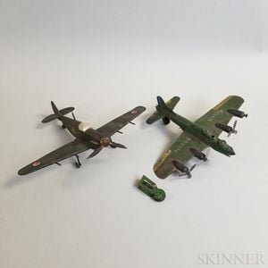 Two WWII RAF Aviation Models