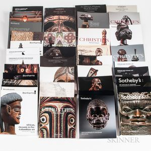 Collection of Tribal Auction Catalogs