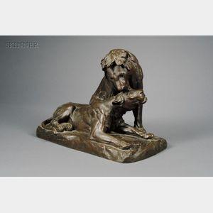 Georges Gardet (French, 1863-1939)      Lion et Lionne
