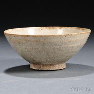 Plain White-glazed Ding Bowl