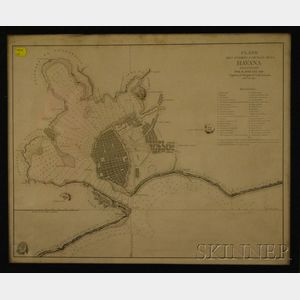 Three Framed 18th and 19th Century Maps and a Framed Historical Engraving