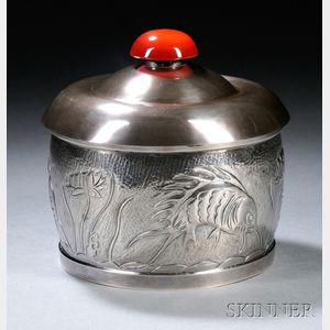 Henry Petzal Silversmith (1906-2002) Covered Box