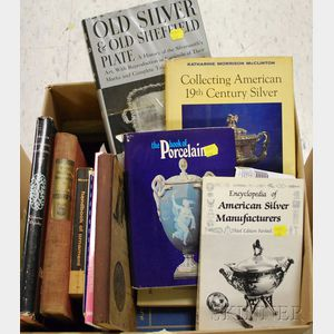 Forty-eight Assorted Antiques and Collecting Reference Books and Pamphlets