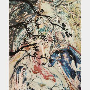 Salvador Dalí (Spanish, 1904-1989)      LES AMOUREUX/
