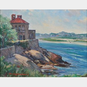 Stanley Wingate Woodward (American, 1890-1970)      Wingaersheek Beach from the Bent House