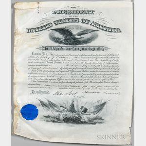 Roosevelt, Theodore (1858-1919) Three Signed Documents, 1902-1907.