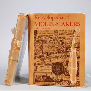 Jalovec, Karel (b. 1892), Encyclopedia of Violin-Makers